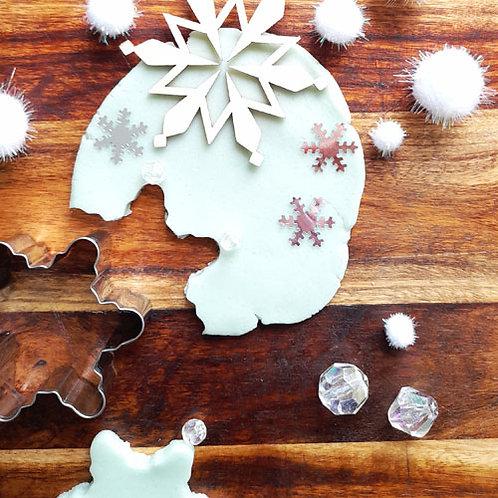 Playdough Mini Kit - Snowflake