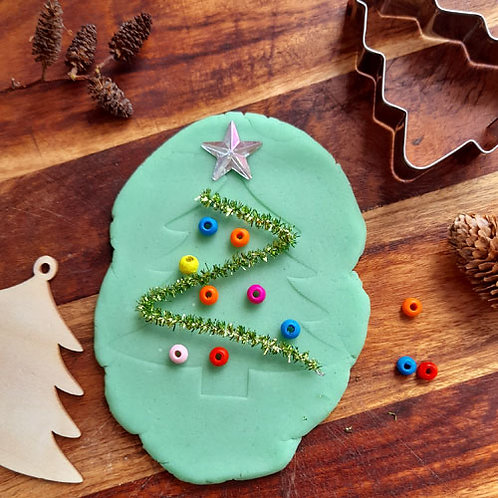 Playdough Mini Kit - Christmas Tree