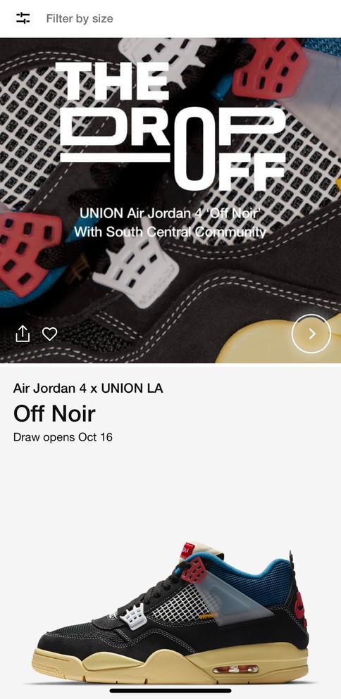 UNION AJ4 'Off Noir'