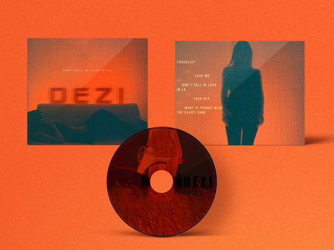 DEZI Album Packeging