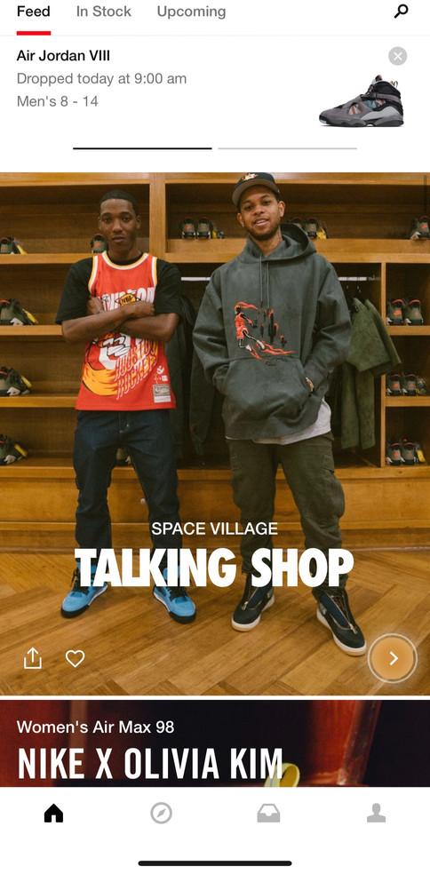 SNKRS: Talking Shop
