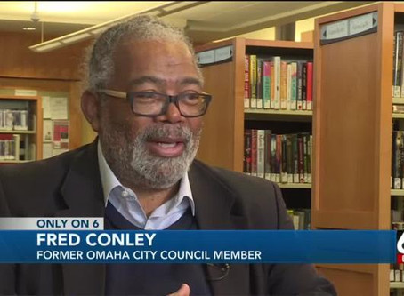 Omaha Councilman Fred Conley reflects on public service past, future