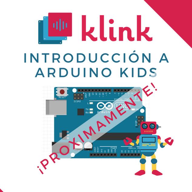 Introducción a Arduino kids