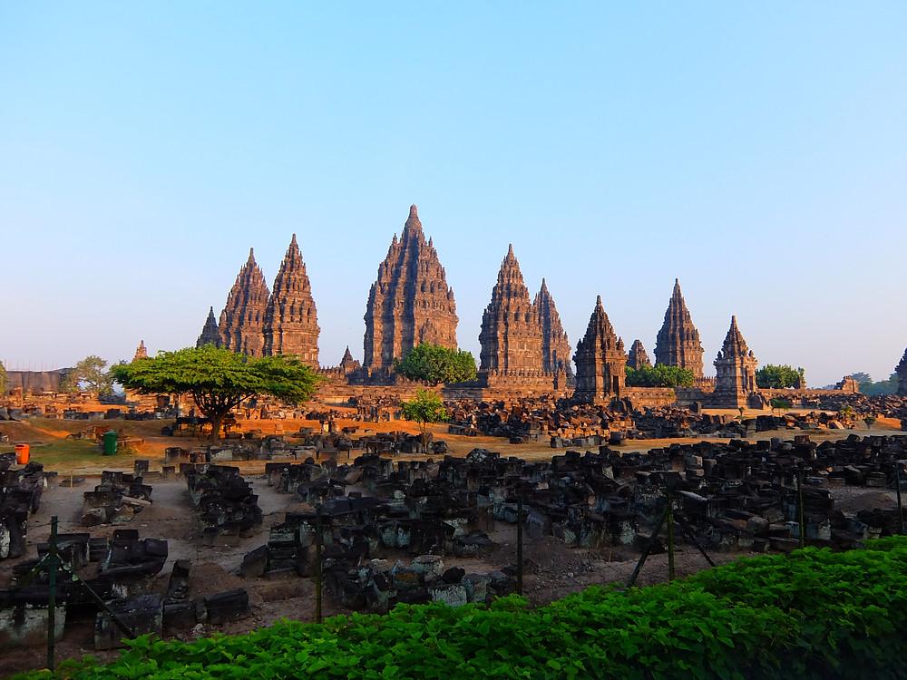 Prambanan Java indonésie voyage en famille