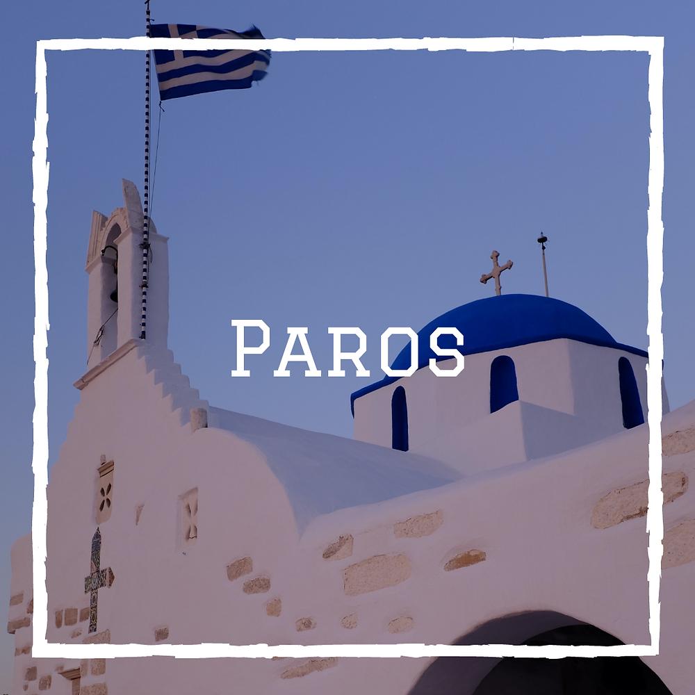 Paros Cyclades Grèce voyage en famille