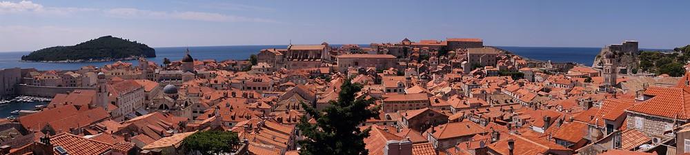 Remparts Dubrovnik Croatie voyage en famille