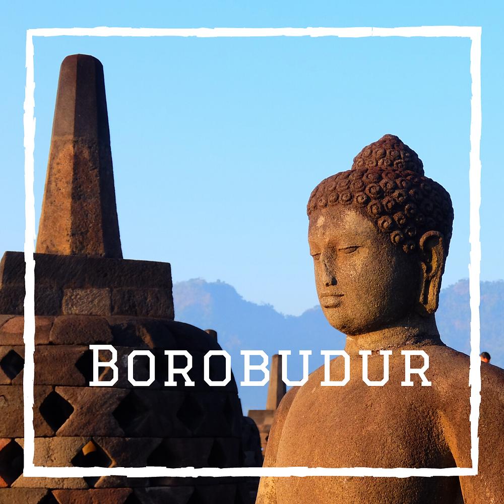 Borobudur Java Indonésie voyage en famille