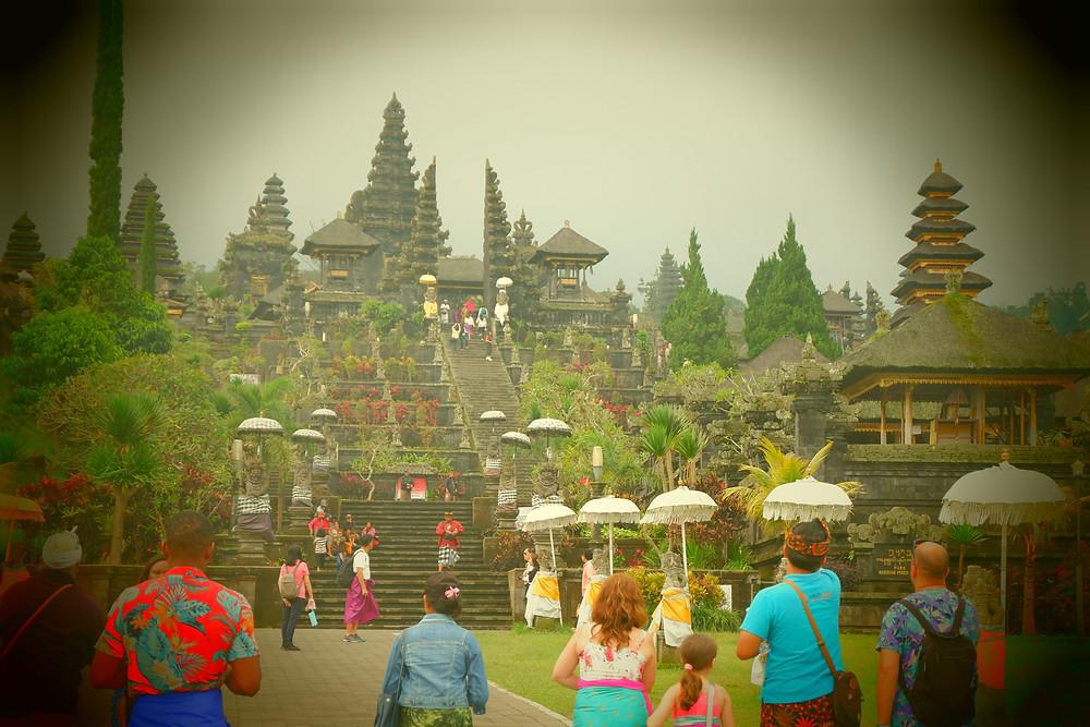 Temple Besakih Bali voyage en famille