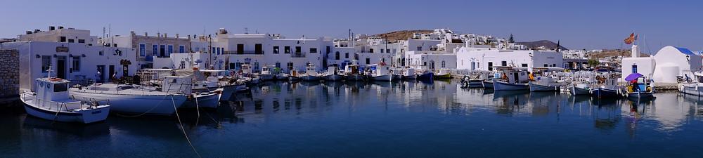 Naoussa Paros Cyclades Grèce voyage en famille