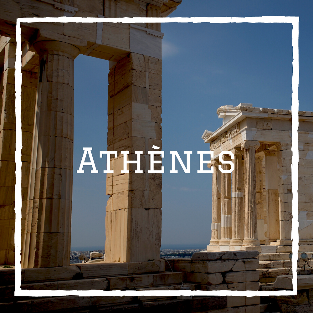 Athènes Parthénon Voyage Grèce