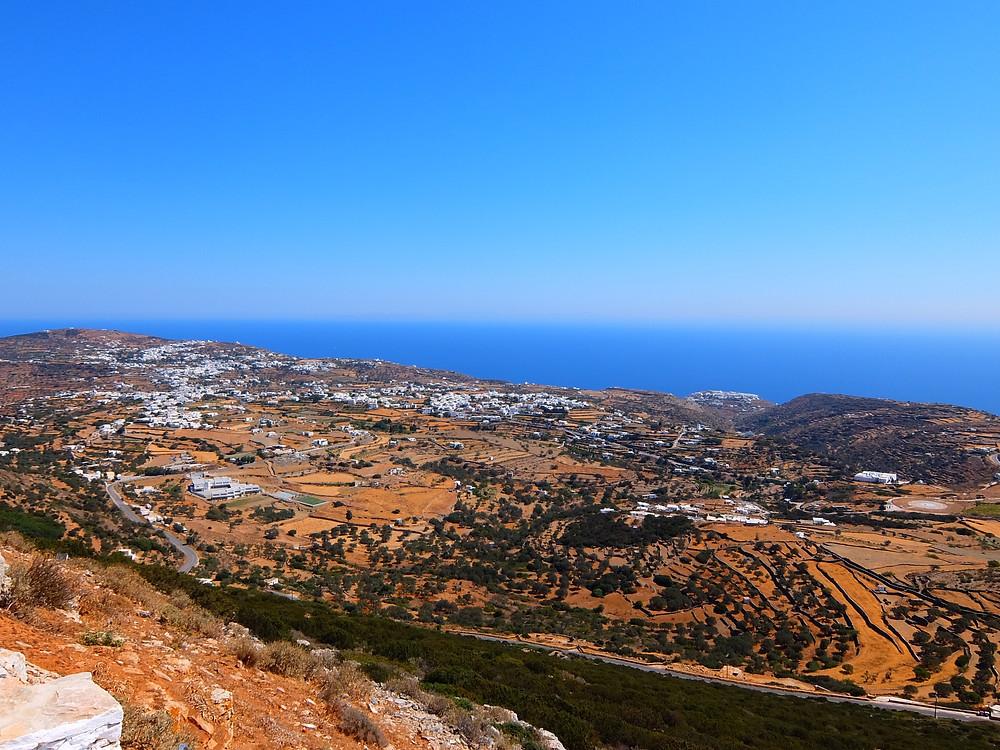 Sifnos Cyclades Grèce voyage en famille