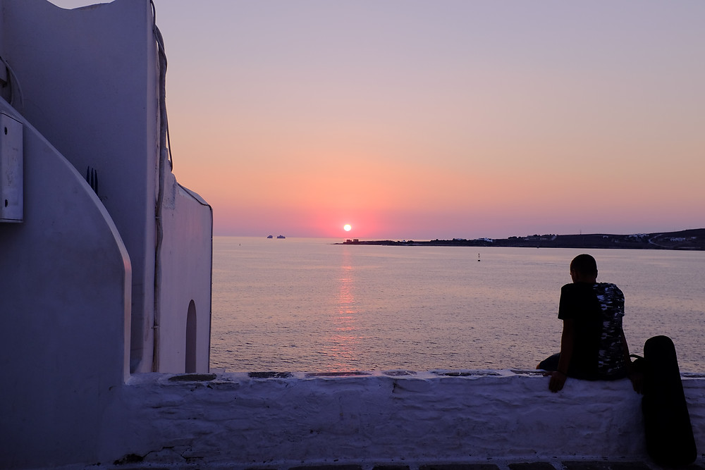 Parikia Paros Cyclades grèce voyage en famille