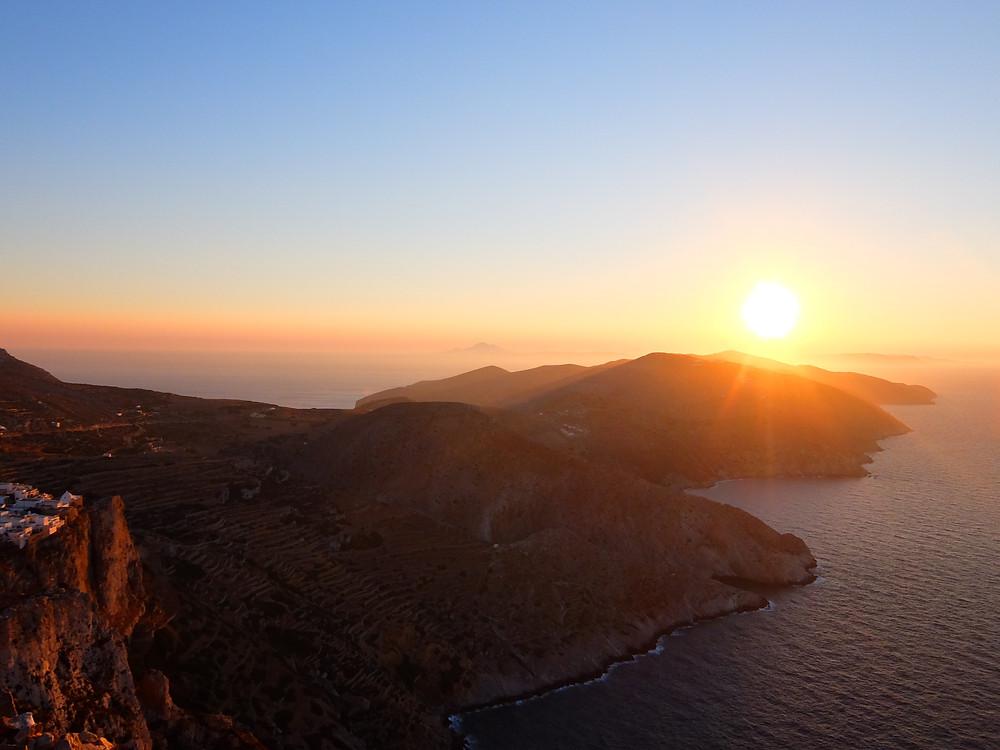 Folegandros Cyclades Grèce voyage en famille