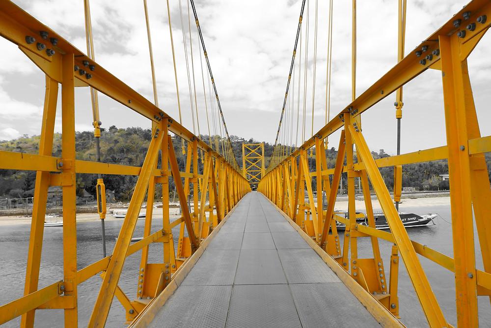 Yellow Bridge Nusa Lembongan Bali voyage en famille
