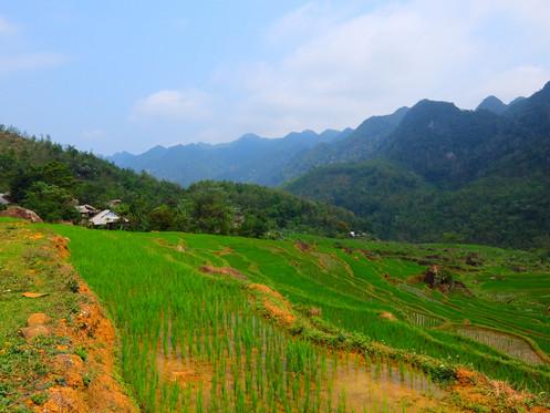 Trek Mai Chau, Vietnam