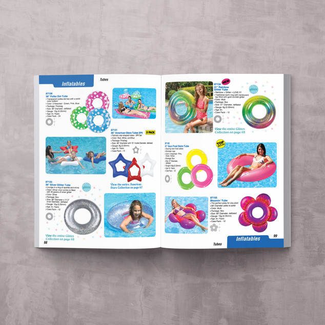 Poolmaster Catalog Spreads