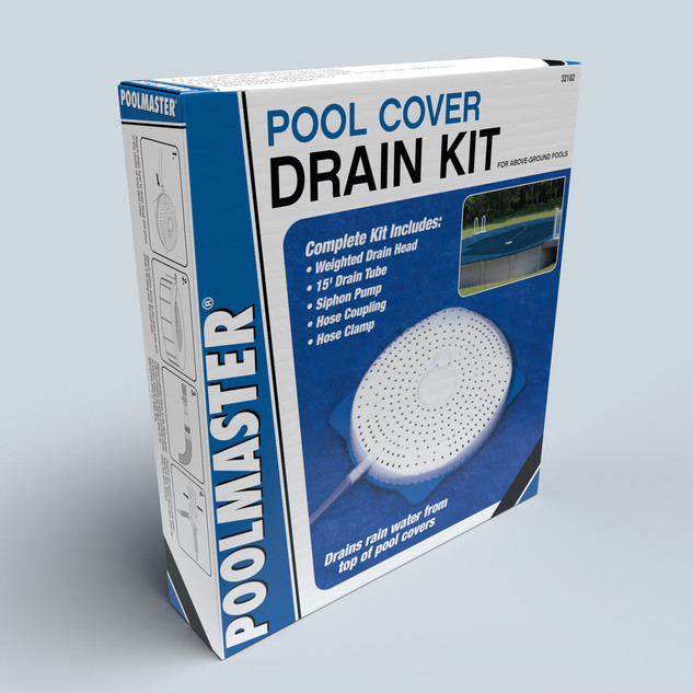 Pool Cover Drain Kit from Poolmaster