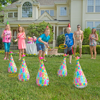 Birthday Hats Ring Toss Game