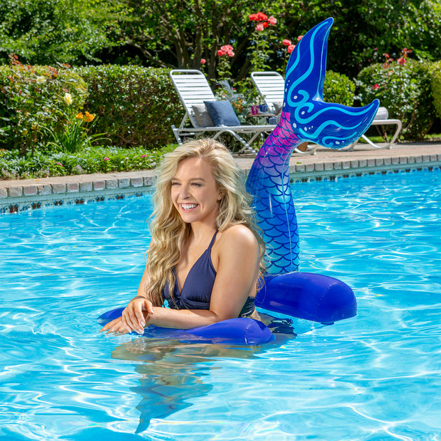 Mermaid Tail Saddle Seat