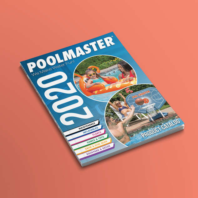 2020 Poolmaster Catalog Concept
