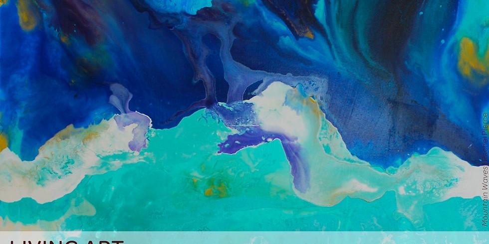 Rachel Pierce Live Painting Demonstration