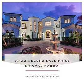 Record sale price in Royal Harbor
