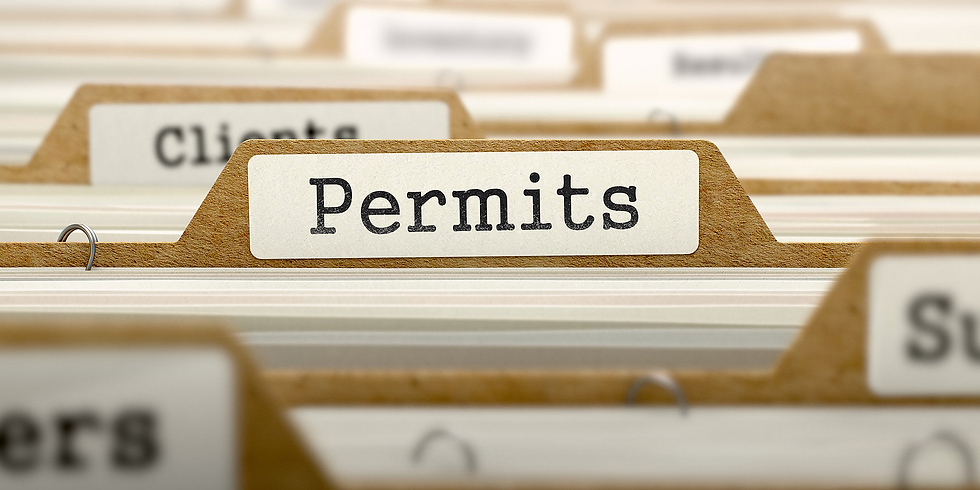 Master Outstanding Permits in Real Estate