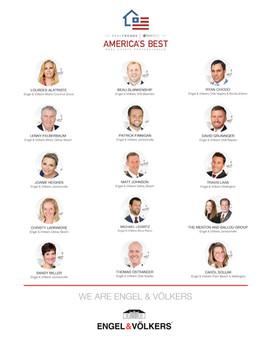 Three Engel & Völkers Olde Naples advisors ranked as America's Best Real Estate Professionals