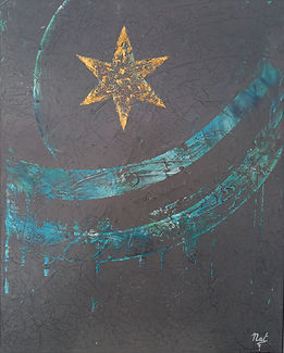 tableau-nuit-bleue-nadia-lacote-artiste-peintre