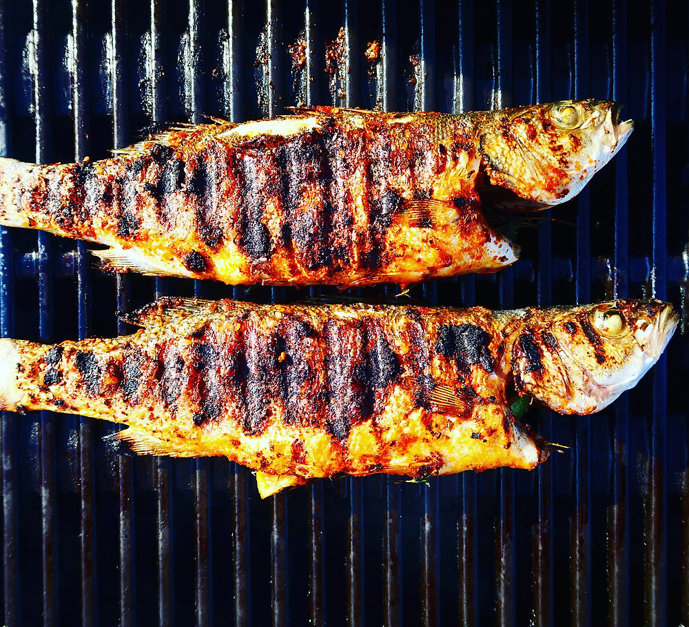 Barbecue Cajun Sea Bass