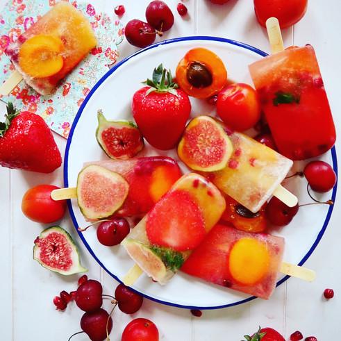 Champagne & Fruit Nectar Pops