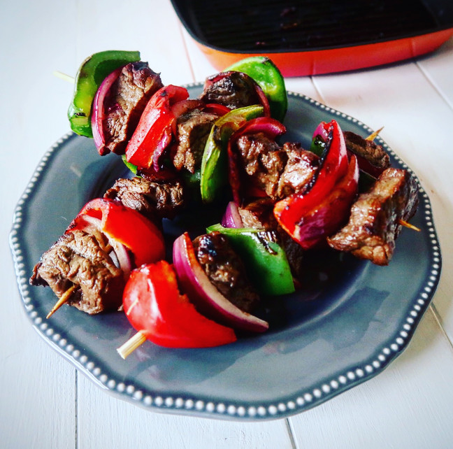 Sizzling Steakhouse Kebabs