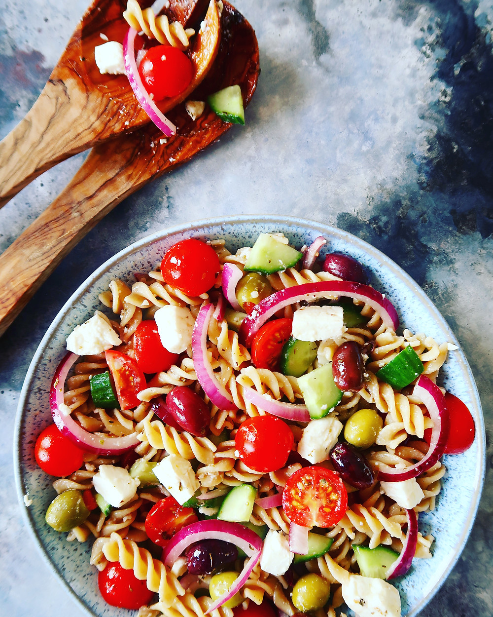 Greek Fusilli Power Bowl