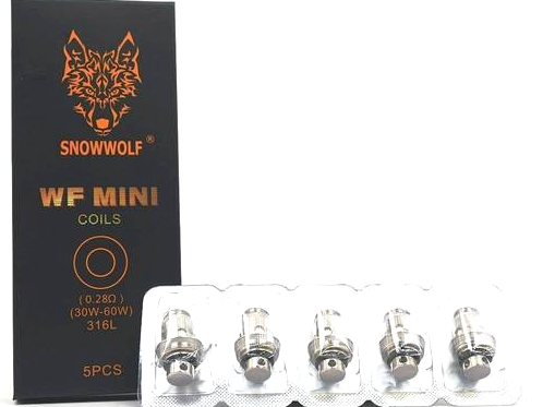 SnowWolf MFENG Mini Coils (5 pack)