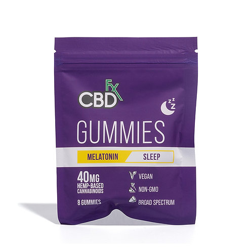 CBD FX Melatonin Sleep 8 Count Gummies
