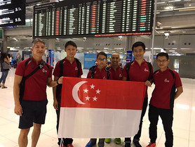 SIMPA Athletes arrived Namsai Beach, Thailand, for ASEAN MP Championship 2016