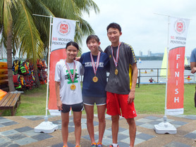 Final result - Singapore Modern Pentathlon - Triathle Series 2016
