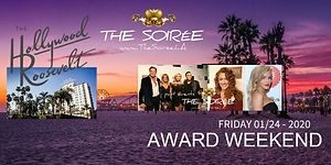 The annual THE SOIRÉE produced by Cut The Bull Enterprise during Grammy Weekend, Los Angeles with many members of the Recording Academy attending.