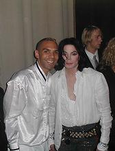 Al Walser and Michael Jackson