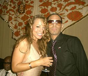 Al Walser and Mariah Carey