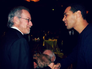 Al Walser and Steven Spielberg