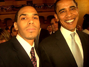Al Walser with President Barac Obama