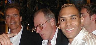 Al Walser and Arnold Schwarzenegger