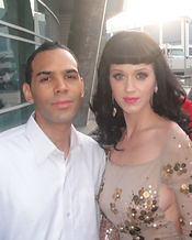 Al Walser and Katy Perry