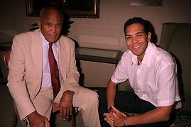 Al Walser and Harry Belafonte