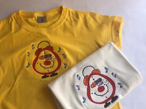 Camiseta Infantil - Reloginho Choro das 3