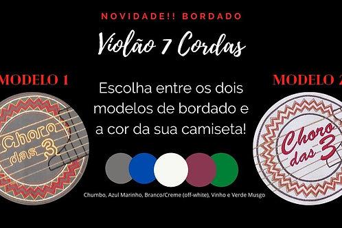 Camiseta Violão 7 Cordas