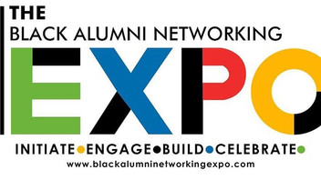 Designer Dominique Thomas Attends the Black Alumni Networking Expo