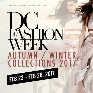 We're Confirmed For DC Fashion Week!