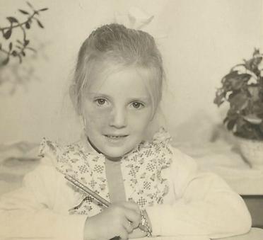 Wilma van Dartel toen ze klei was